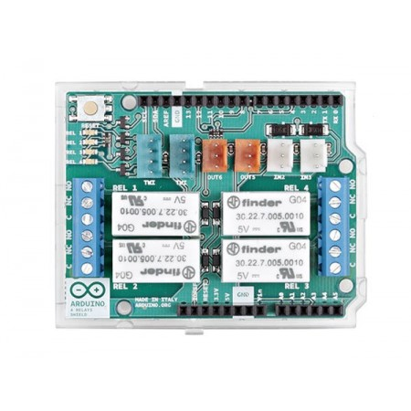 Relè shield Arduino 4 relè