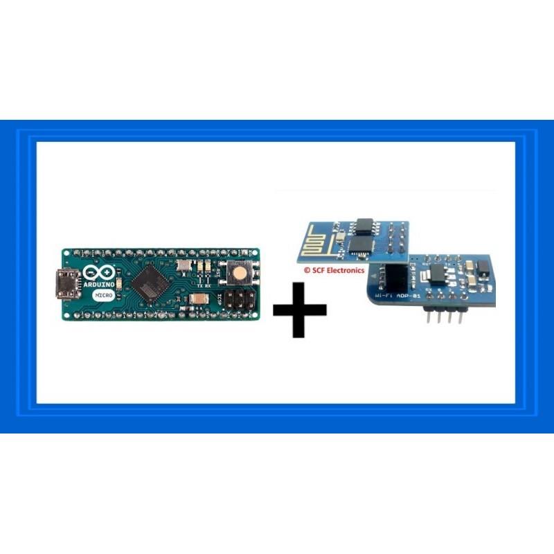 Arduino Micro + SCF-01