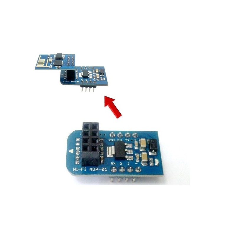 Breadbord Adapter