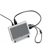 5inch HDMI LCD (con cornice bicolore)  800x480